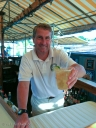 Kevin is a friendly face at the Boat Bar (and mixes a perfect MG&T!)