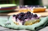Loaded Goat Blueberry Cheescake